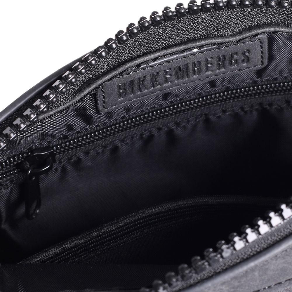 Мужская сумка Bikkembergs темно-серого цвета