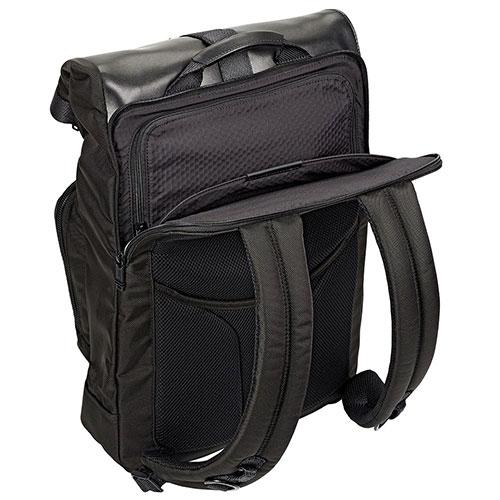 Черный рюкзак Tumi Alpha Bravo Londonl с отделением для ноутбука, фото