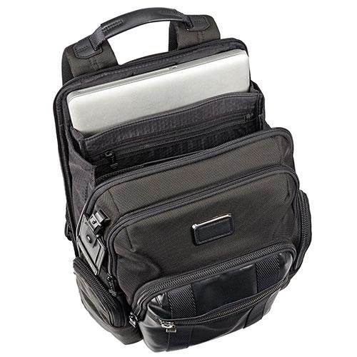 Рюкзак Tumi Alpha Bravo Nellis с кожаной отделкой, фото