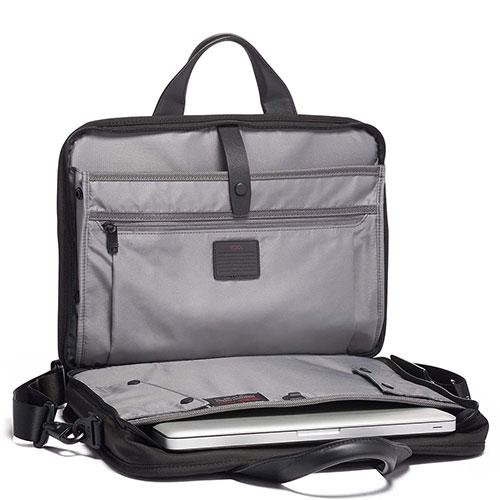 Сумка для ноутбука Tumi Alpha 3 T-Pass Slim из нейлона, фото