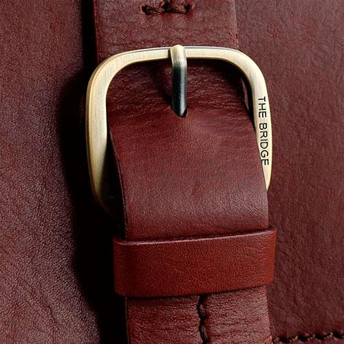 Портфель с карманом для ноутбука The Bridge Fitzroy коричневого цвета, фото