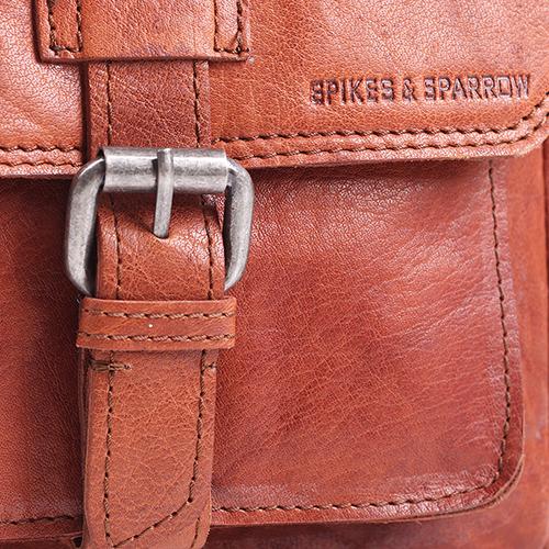 Мужская сумка Spikes&Sparrow Bronco из коричневой кожи, фото