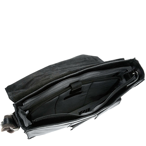 Сумка Spikes&Sparrow из кожи черного цвета, фото