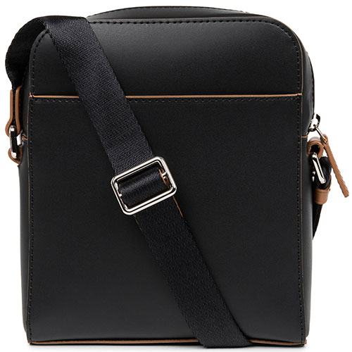 Мужская сумка Lancaster Smooth Homme черного цвета, фото