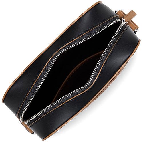 Черная сумка Lancaster Smooth Homme из гладкой кожи, фото