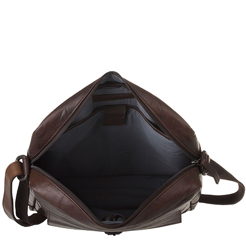 Мужская сумка Spikes&Sparrow Bronco коричневого цвета, фото
