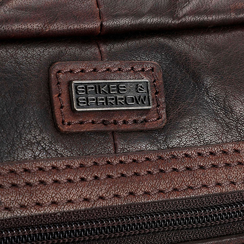 Сумка для ноутбука Spikes&Sparrow Bronco коричневого цвета, фото