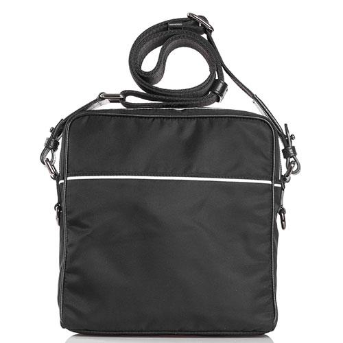 Текстильная сумка Dolce&Gabbana с брендовым принтом, фото