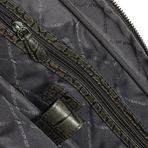 Сумка-портфель Braun Bueffel Lisboa с тиснением кроко, фото