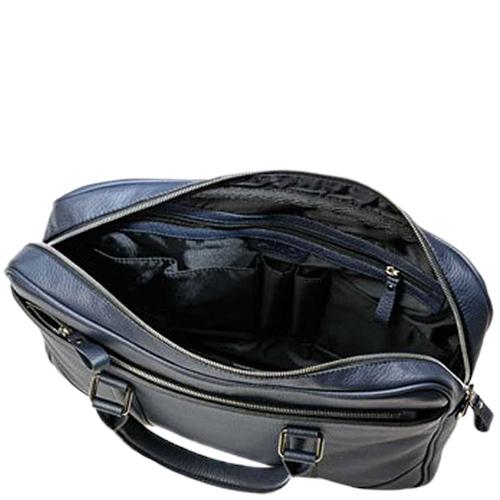 Мужская сумка Amo Accessori Comfort синего цвета, фото