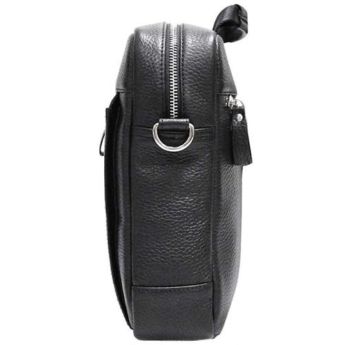 Мужская сумка Amo Accessori Gino черного цвета, фото