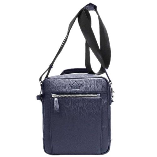 Синяя сумка Amo Accessori Gino через плече, фото