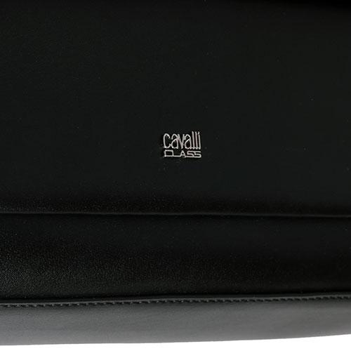 Сумка Cavalli Class Neon Nappa черного цвета, фото
