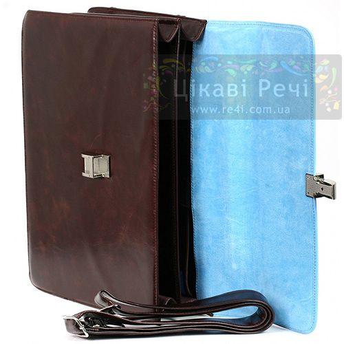Портфель Piquadro на 2 отделения с отделением для ноутбука Blue square, фото