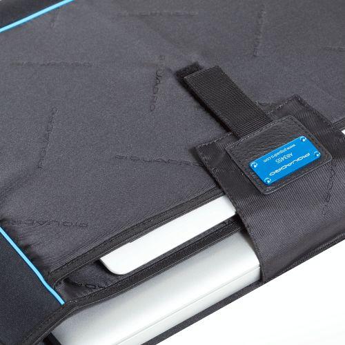 Сумка Piquadro Vibe горизонтальная с отделением для ноутбука бежевая, фото