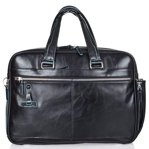 Многофункциональный портфель Piquadro Blue Square черный, фото