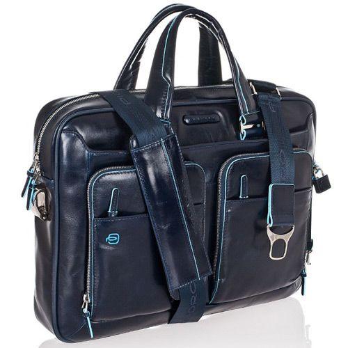 Многофункциональный портфель Piquadro Blue Square темно-синий, фото