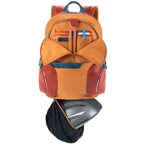 Рюкзак Piquadro Coleos с отделением для iPad желтый, фото