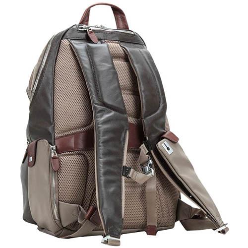 Бежевый рюкзак Piquadro Coleos с отделом для ноутбука, фото