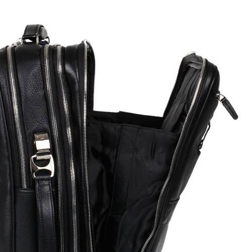 Кожаная сумка-рюкзак Piquadro Modus с отделением для ноутбука, фото