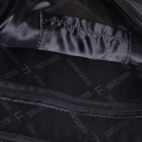 Сумка прямоугольной формы Ferre Collezioni черного цвета, фото