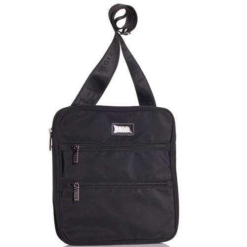 Текстильная сумка Ferre Collezioni черного цвета, фото