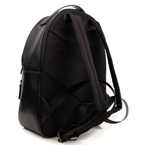 Черный рюкзак Emporio Armani с накладным карманом, фото