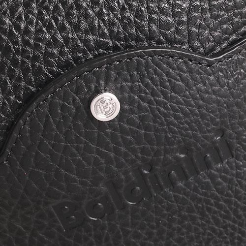 Сумка Baldinini Martin из зернистой кожи черного цвета, фото