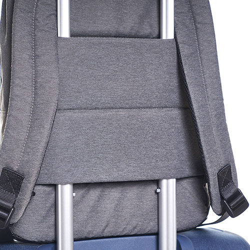 Рюкзак Hedgren Excellence серого цвета со съемным брелком, фото