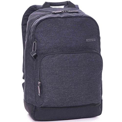 Темно-серый рюкзак Hedgren Walker со съемным брелком, фото