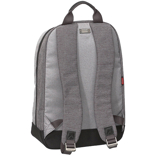 Рюкзак Hedgren Walker из текстиля серого цвета, фото