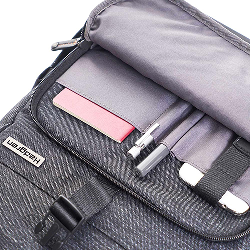 Рюкзак Hedgren Walker темно-серого цвета с клапаном, фото