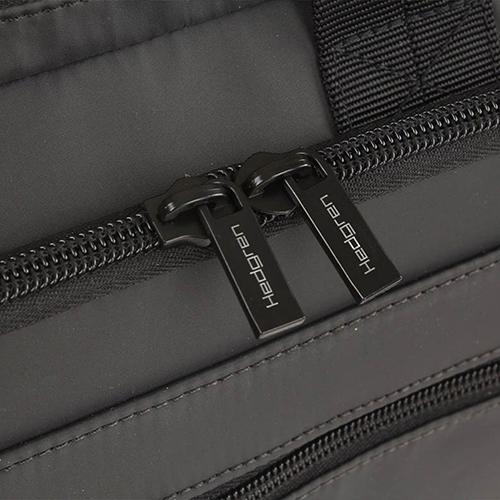 Серая сумка Hedgren Zeppelin Revised с отделением для ноутбука, фото