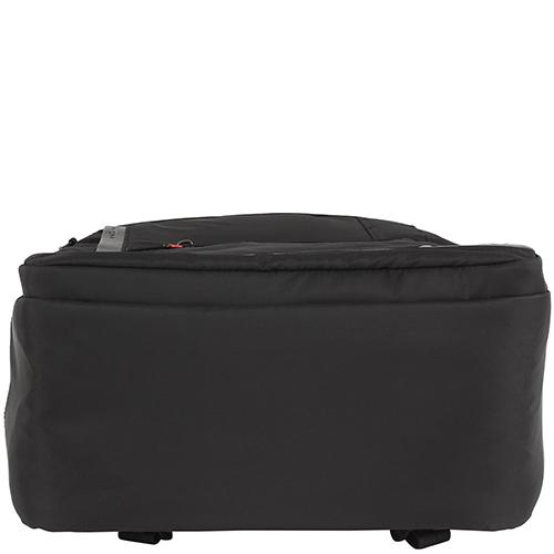 Черный рюкзак Hedgren Zeppelin Revised большого размера, фото