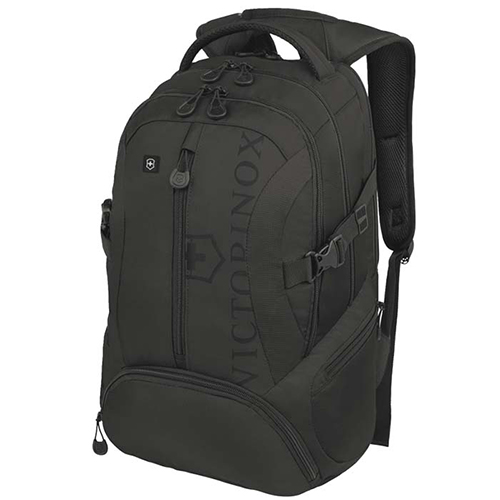 Рюкзак черного цвета Victorinox Vx Sport Scout из текстиля, фото
