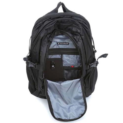 Рюкзак черного цвета Victorinox Vx Sport Pilot с отделением для ноутбука, фото