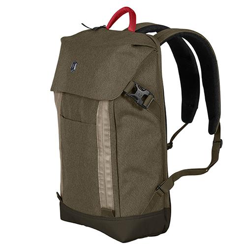 Зеленый рюкзак Victorinox Altmont Classic Deluxe Flapover Laptop, фото