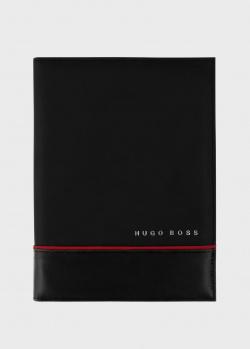 Папка Hugo Boss Explore Brushed Black формата A4, фото