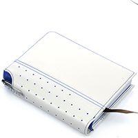 Блокнот малый Cross Signature белого цвета в комплекте с ручкой Cross, фото
