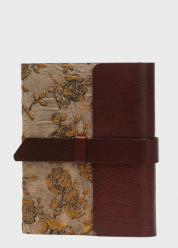 Кожаный блокнот Florentia Roza ручной работы, фото