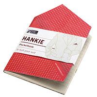 Записная книжка Monkey Business Hankie Pocketbook красная, фото
