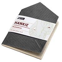 Записная книжка Monkey Business Hankie Pocketbook черная, фото