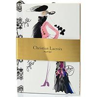Блокнот Christian Lacroix Papier Croquis Fashion Sketch А6 с лентой-закладкой, фото