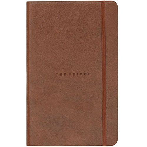 Записная книжка The Bridge Story Uomo кожаная коричневая, фото