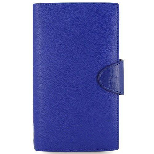 Органайзер Filofax Compact Calipso кожаный ярко-синий, фото