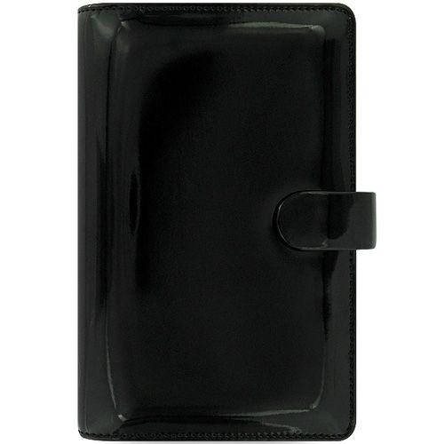 Персональный органайзер Filofax Compact Patent черный лаковый, фото