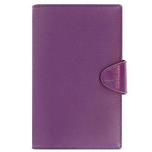 Органайзер Filofax Compact Calipso кожаный пурпурный, фото