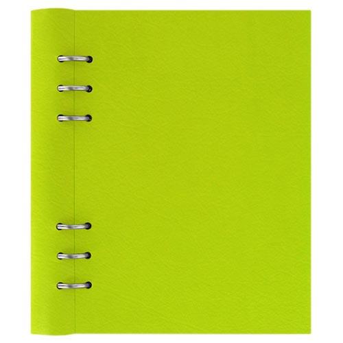 Яркий зеленый органайзер Filofax ClipBook A5 Classic в обложке из экокожи, фото