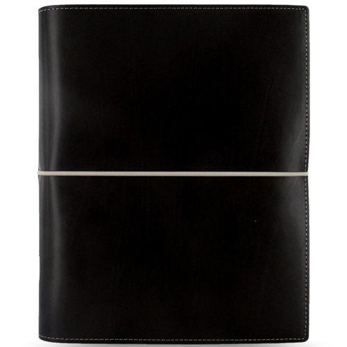 Функциональный органайзер Filofax А5 Domino черный на резинке, фото