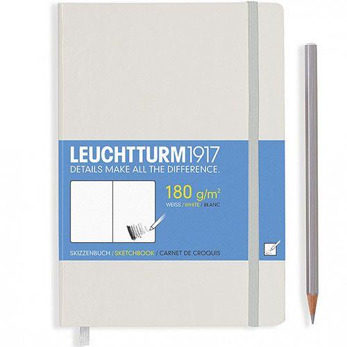 Белый блокнот без разметки Leuchtturm1917 для эскизов, фото